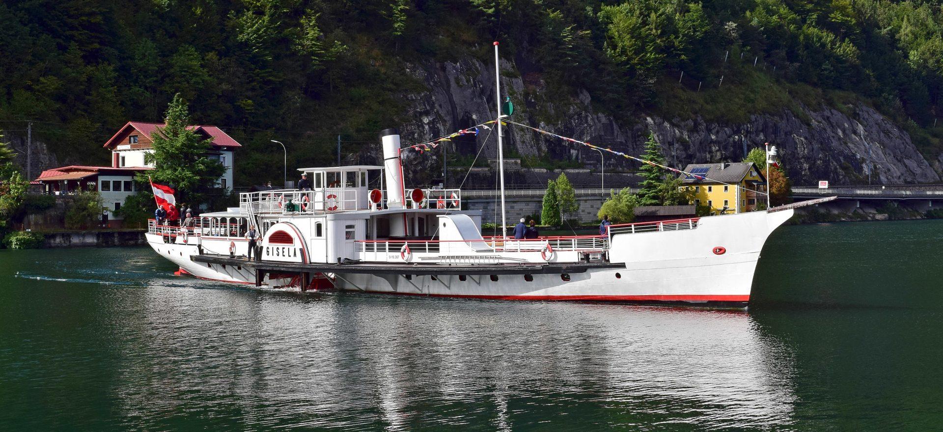 Dampfschiff Gisela